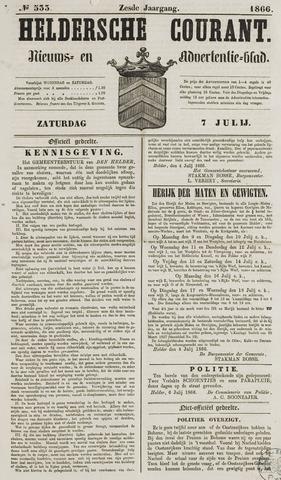 Heldersche Courant 1866-07-07