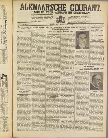 Alkmaarsche Courant 1941-01-07