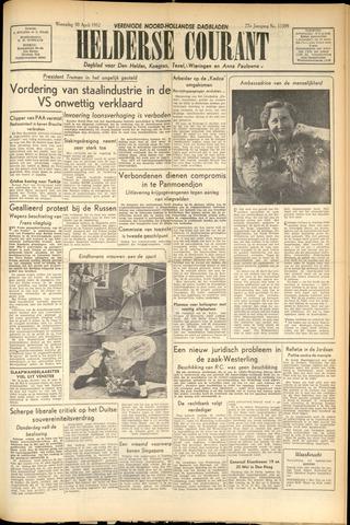 Heldersche Courant 1952-04-30