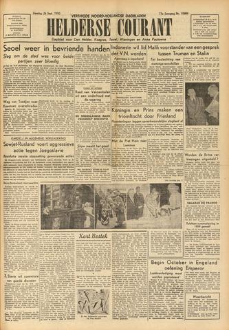 Heldersche Courant 1950-09-26