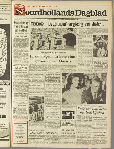 Noordhollands Dagblad : dagblad voor Alkmaar en omgeving 1968-10-21