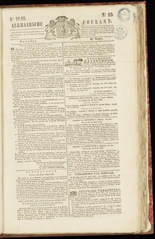 Alkmaarsche Courant 1848-03-27