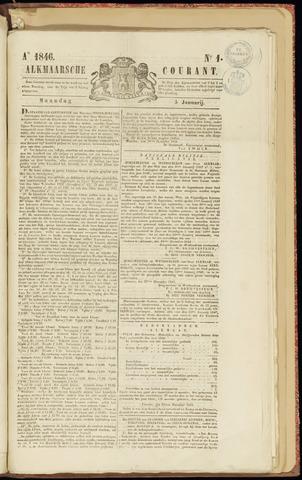 Alkmaarsche Courant 1846-01-05