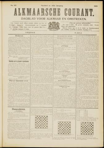Alkmaarsche Courant 1909-07-09
