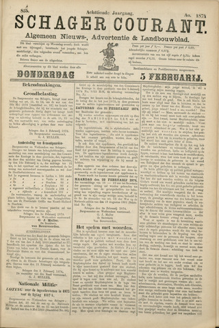 Schager Courant 1874-02-05