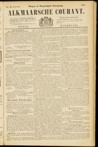 Alkmaarsche Courant 1897-02-21