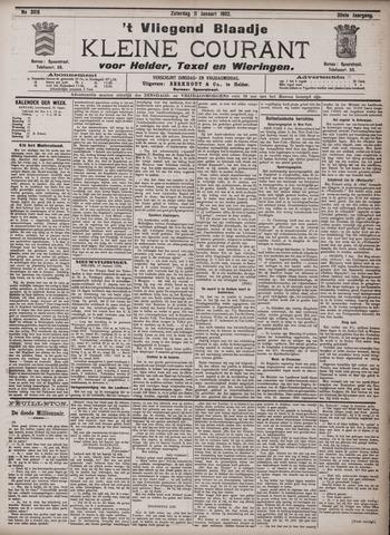 Vliegend blaadje : nieuws- en advertentiebode voor Den Helder 1902-01-11