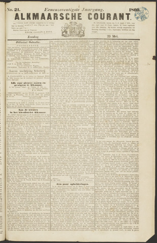 Alkmaarsche Courant 1869-05-23