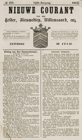 Nieuwe Courant van Den Helder 1865-07-22