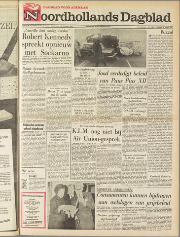 Noordhollands Dagblad : dagblad voor Alkmaar en omgeving 1964-01-22
