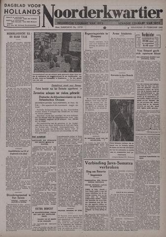 Dagblad voor Hollands Noorderkwartier 1942-02-23