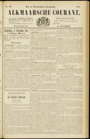 Alkmaarsche Courant 1894-11-14