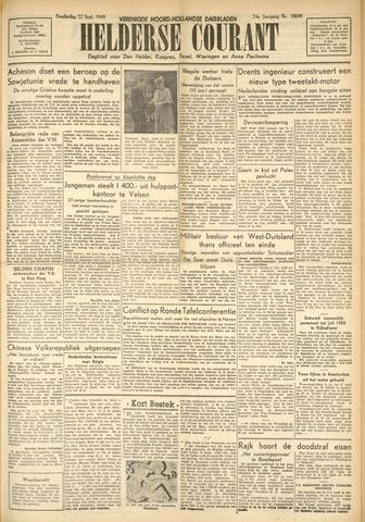 Heldersche Courant 1949-09-22