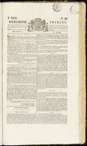 Alkmaarsche Courant 1842-07-18
