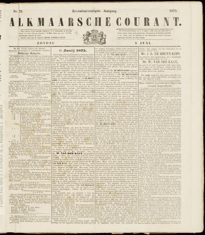 Alkmaarsche Courant 1875-06-06