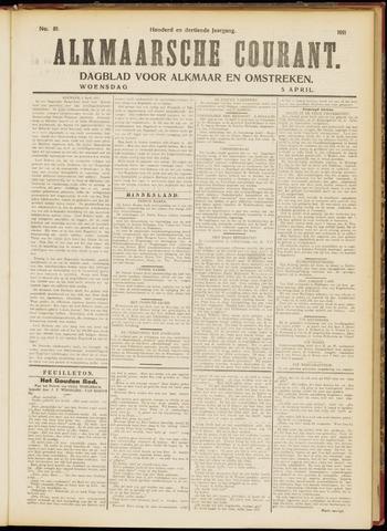 Alkmaarsche Courant 1911-04-05