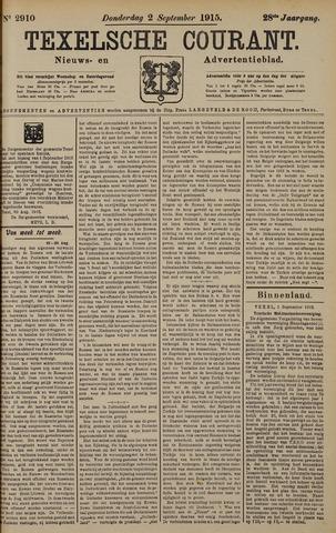 Texelsche Courant 1915-09-02