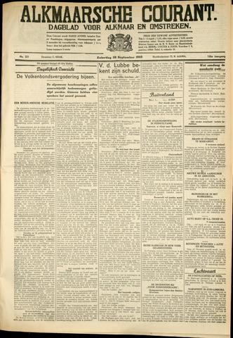 Alkmaarsche Courant 1933-09-30