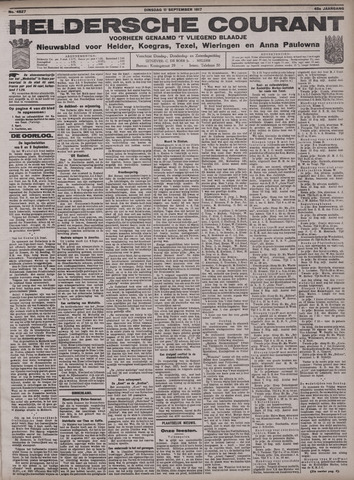 Heldersche Courant 1917-09-11