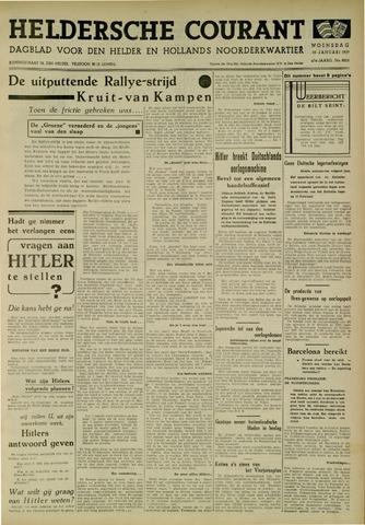 Heldersche Courant 1939-01-25