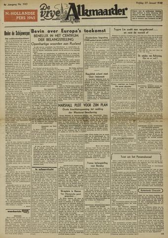 De Vrije Alkmaarder 1948-01-23