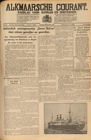 Alkmaarsche Courant 1939-11-20