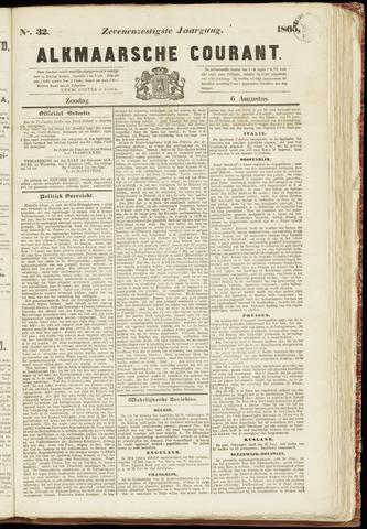 Alkmaarsche Courant 1865-08-06