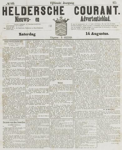Heldersche Courant 1875-08-14