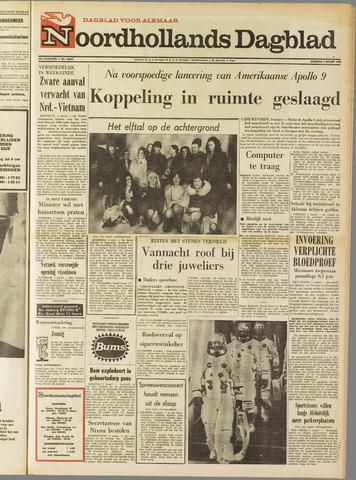 Noordhollands Dagblad : dagblad voor Alkmaar en omgeving 1969-03-04