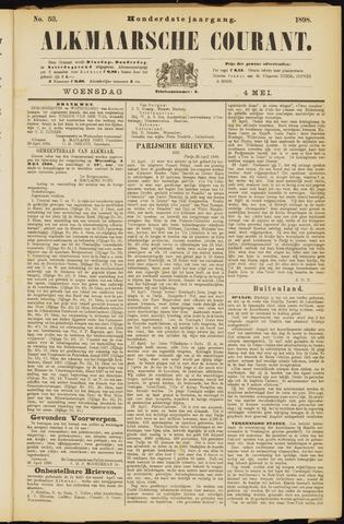 Alkmaarsche Courant 1898-05-04