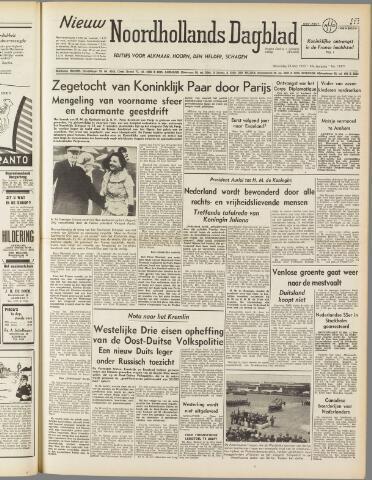 Nieuw Noordhollandsch Dagblad : voor Alkmaar en omgeving 1950-05-24