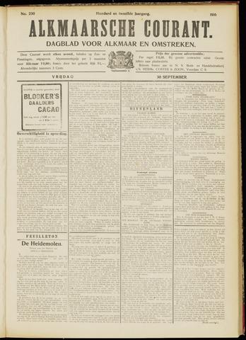 Alkmaarsche Courant 1910-09-30