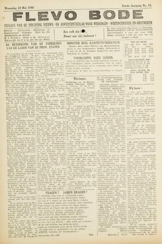 Flevo-bode: nieuwsblad voor Wieringen-Wieringermeer 1946-05-29