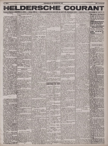 Heldersche Courant 1919-08-28