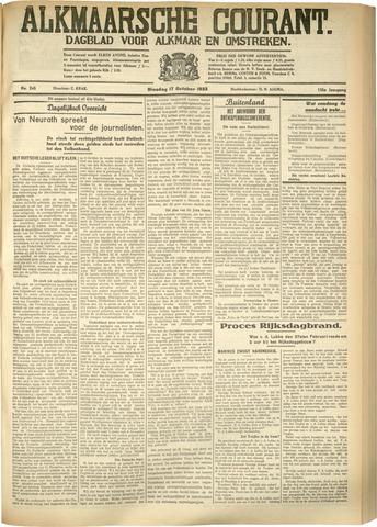 Alkmaarsche Courant 1933-10-17