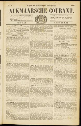 Alkmaarsche Courant 1897-02-05