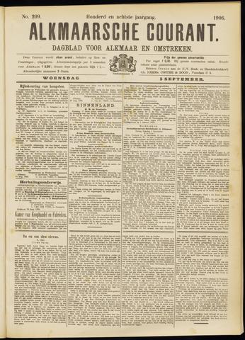 Alkmaarsche Courant 1906-09-05