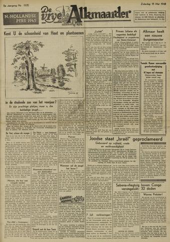 De Vrije Alkmaarder 1948-05-15