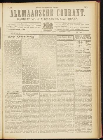 Alkmaarsche Courant 1917-04-13