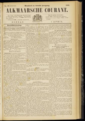 Alkmaarsche Courant 1900-04-01