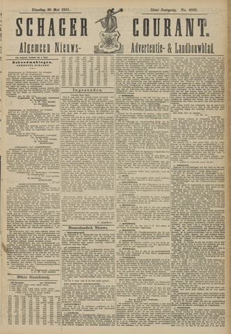 Schager Courant 1911-05-30