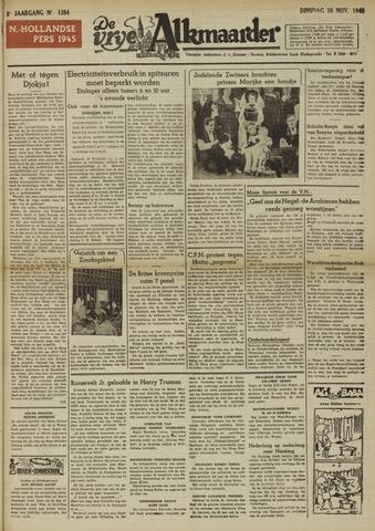 De Vrije Alkmaarder 1948-11-16