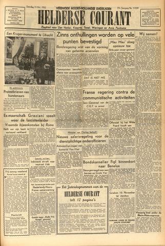 Heldersche Courant 1952-10-11