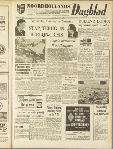 Noordhollands Dagblad : dagblad voor Alkmaar en omgeving 1961-10-09