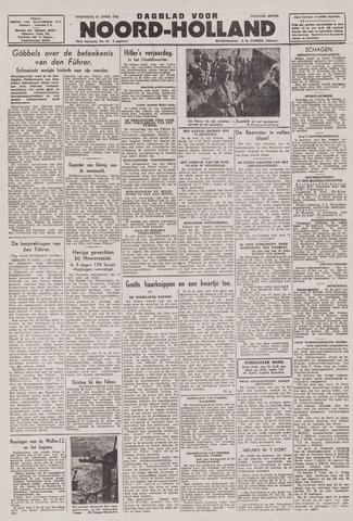 Dagblad Noord-Holland, Schager editie 1943-04-21
