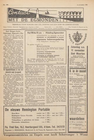 Contact met de Egmonden 1961-11-09
