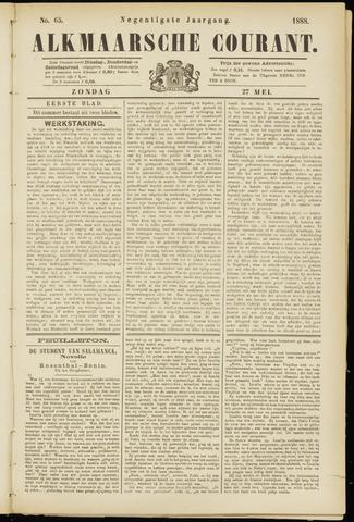 Alkmaarsche Courant 1888-05-27
