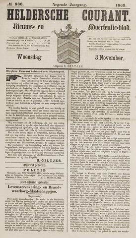Heldersche Courant 1869-11-03