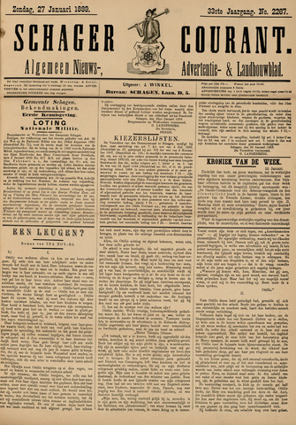 Schager Courant 1889-01-27