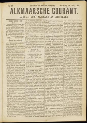 Alkmaarsche Courant 1906-02-10